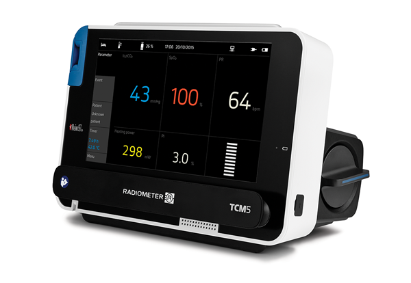 TCM5 Basic Monitor - Accurately record ventilation and oxygenation status